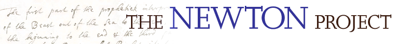 The Newton Project Logo