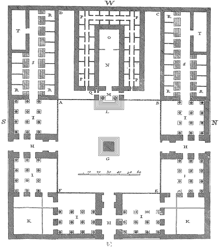 Solomons Temple Diagram.Chapter 5 A Description Of The Temple Of Solomon